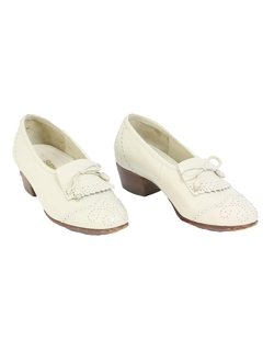1970's Womens Accessories - Heels Loafer Shoes