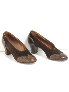 1940's Womens Accessories - Heels Shoes