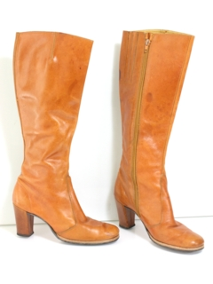 1970's Womens Accessories - Boots Shoes
