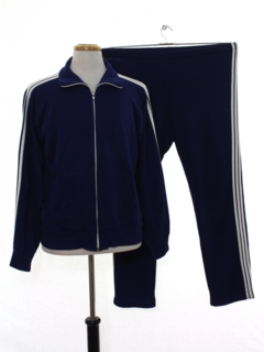 1980's Mens Totally 80s Track Jacket And Matching Track Pants