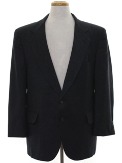 1980's Mens Wool Blazer Sport Coat Jacket