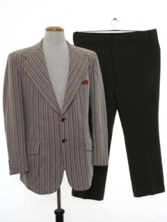 1960's Mens Combo Suit