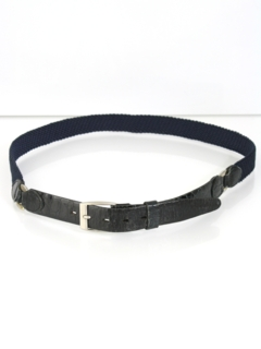 1950's Mens Accessories - Mod Leather Belt