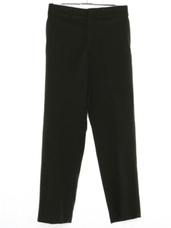 1950's Mens Mod Flat Front Uniform Pants
