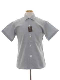 1950's Mens Print Sport Shirt