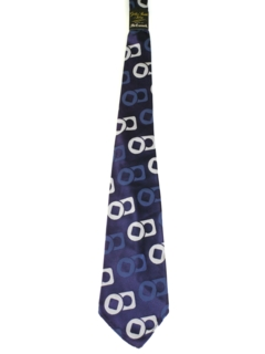 1940's Mens wide Swing Abstract Necktie