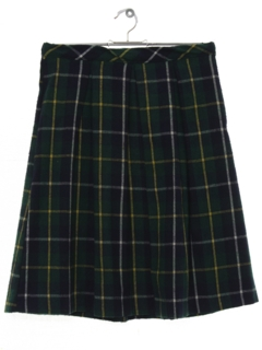 1970's Womens Pleated Skirt
