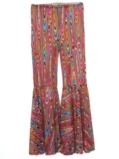 1980's Womens Hippie Bellbottom Pants