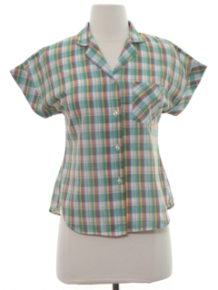 1960's Womens or Girls Shirt