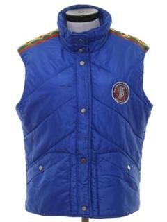 1970's Womens Ski Vest Jacket