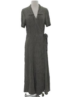 1980's Womens Maxi Robe