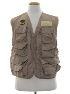 1980's Mens Fishing Vest