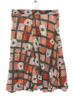 1960's Womens Mod Skirt