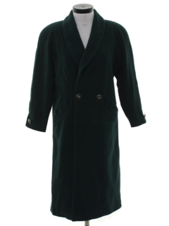1990's Womens Wicked 90s Wool Overcoat Jacket