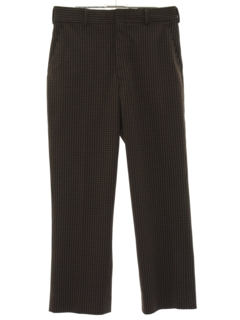 1960's Mens Flared Slacks Pants