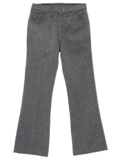 1960's Mens Flared Jeans-cut Pants