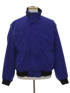 1990's Mens Wind Breaker Zip Jacket