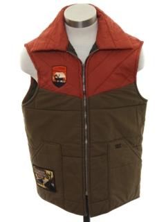 1970's Mens Ski Vest Jacket
