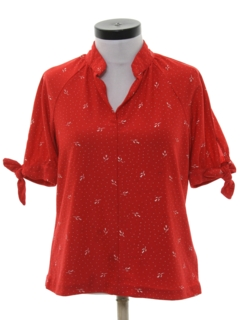 1970's Womens Totally 80s Shirt
