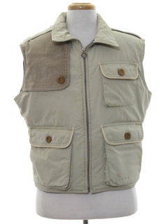 1980's Mens Hunting Vest Jacket