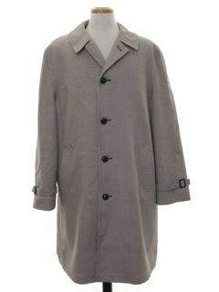 1960's Mens Overcoat Trench Jacket