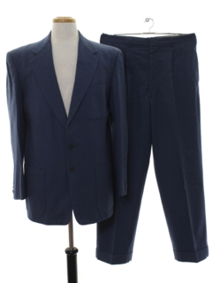 1940's Mens Matching Wool Suit