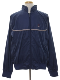 1980's Mens Wind Breaker Golf Zip Jacket