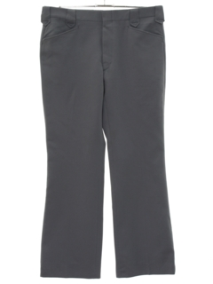 1980's Mens Flared Western Style Leisure Pants