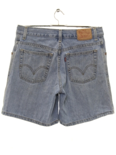 1990's Womens Levis 550 Denim Shorts