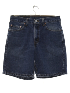 1980's Mens Levis 550 Denim Shorts