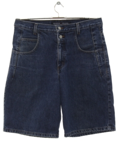 1980's Mens Designer Denim Shorts