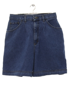 1990's Mens Wicked 90s High Waisted Denim Shorts