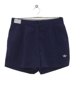 1980's Womens Totally 80s Tennis Sport Shorts