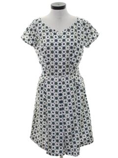 1960's Womens Secretary Style Dress