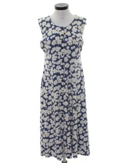 1990's Womens A-Line Dress