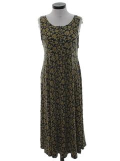 1990's Womens A Line Dress
