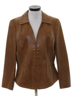 1980's Womens Leather Jacket