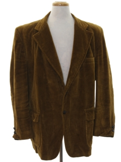 1970's Mens Corduroy Sport Coat Jacket