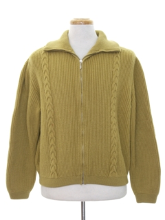 1960's Mens Sweater Jacket