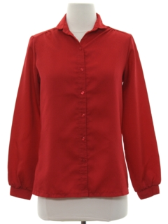 1960's Womens Secretary Shirt