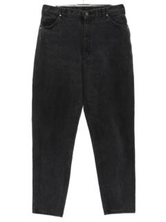1990's Womens Tapered Leg Denim Jeans Pants