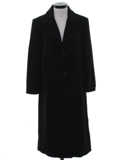 1980's Womens Wool Overcoat Jacket