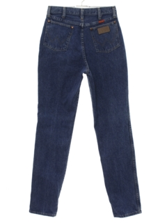 1990's Womens Straight Leg Denim Jeans Pants