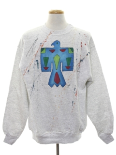 1990's Unisex Wicked 90s Hand Painted Sweatshirt