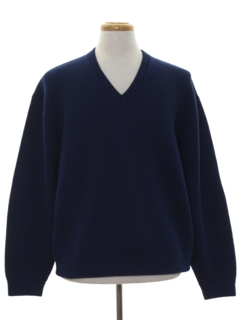 1960's Mens Wool Sweater