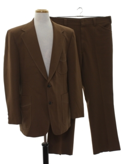 1970's Mens Matching Disco Suit