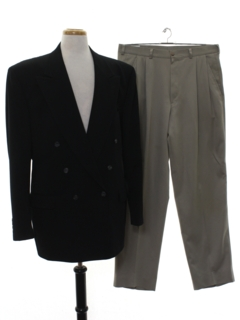 1980's Mens Combination Suit
