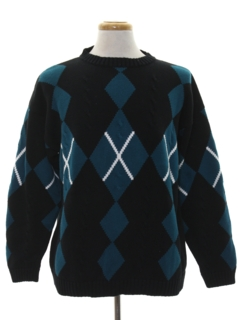 1990's Mens Wicked 90s Preppy Sweater