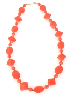 1960's Womens Accessories - Jewelry Mod Necklace