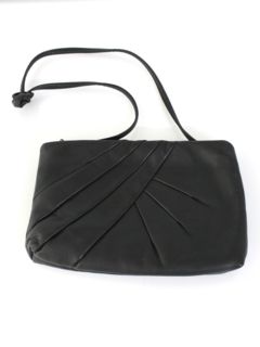 1980's Womens Accessories - Totally 80s Leather Purse